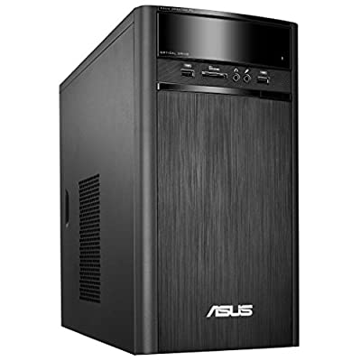 Asus K31AD-IN013D Desktop (Core i5-4460 /4GB/1TB/DOS/Integrated Graphics), Black