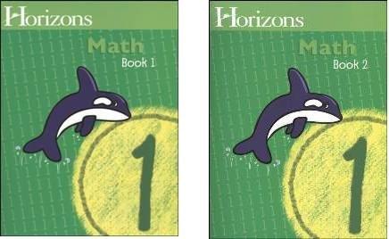 Horizons Math 1 SET of 2 Student Workbooks 1-1 and 1-2 (Horizons Math 1 compare prices)