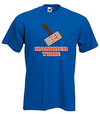 "Noah Syndergaard New York Mets ""Thor Hammer"" T-Shirt"