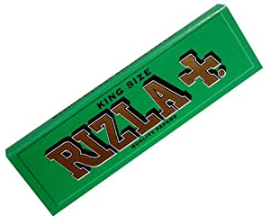 5 Packets Rizla Green King Size Cigarette - Tobacco Rolling papers