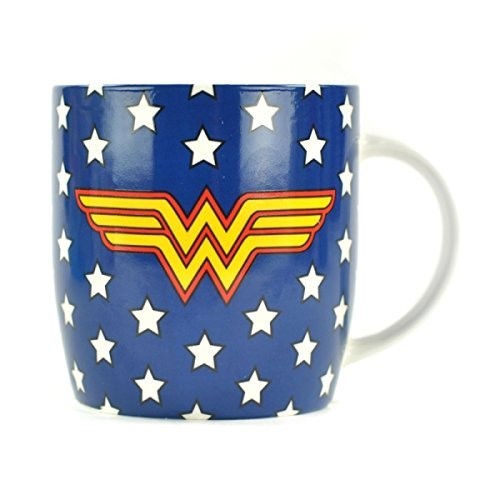 Mug Boxed 325ml Wonder Woman Stars