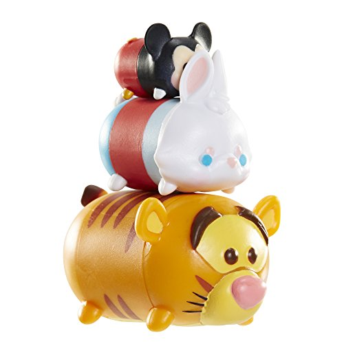 Tsum Tsum 3-Pack Figures: Tigger/White Rabbit/Mickey