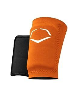 EvoShield Protective Baseball Wrist Guard,Orange,X-Large