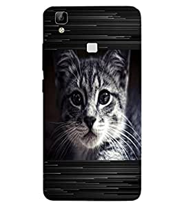 ColourCraft Funny Image with Quote Design Back Case Cover for VIVO V3 MAX