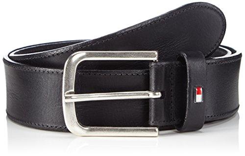 Tommy Hilfiger RANGER BELT-Cintura Uomo    Nero (black 990) 95 cm
