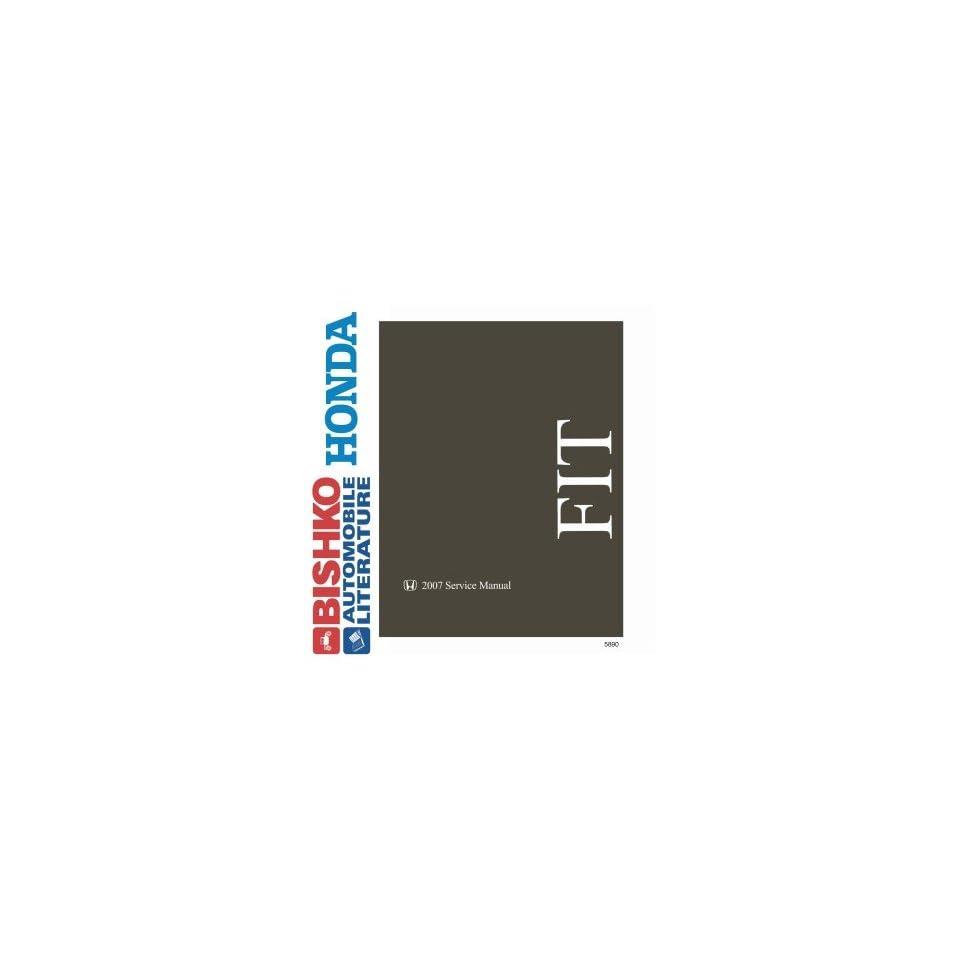2007 Honda Fit Shop Service Repair Manual CD Engine Drivetrain Electrical OEM