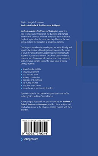 Handbook of Pediatric Strabismus and Amblyopia