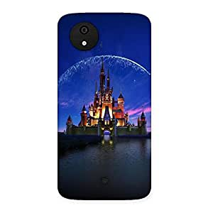Delighted Castle Multicolor Back Case Cover for Micromax Canvas A1