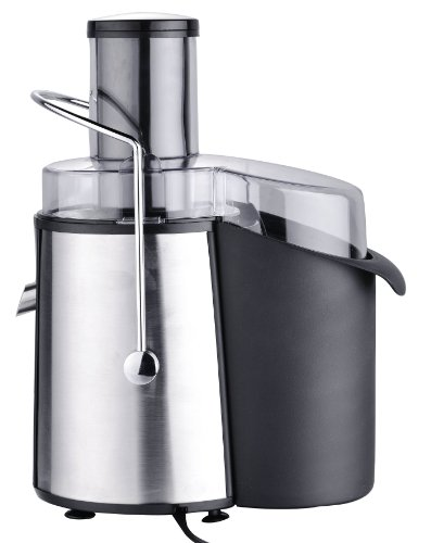 Chefs Star® Juicer Wide Mouth Fruit & Vegetable Juice Extractor - Stainless Steel