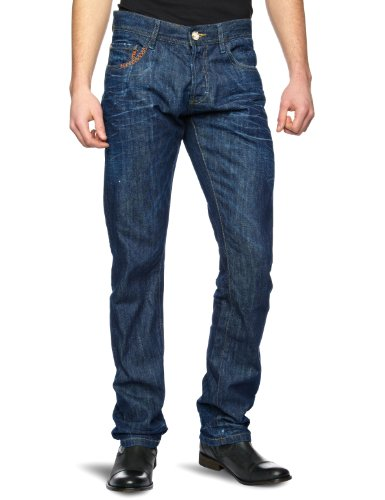 Desigual Likke Slim Men's Jeans Oscuro W28 x Regular