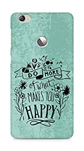 AMEZ do more of what makes you happy Back Cover For Letv Le 1S