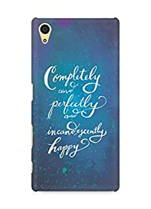 AMEZ completely and perfectly and incandescently happy Back Cover For Sony Xperia Z5