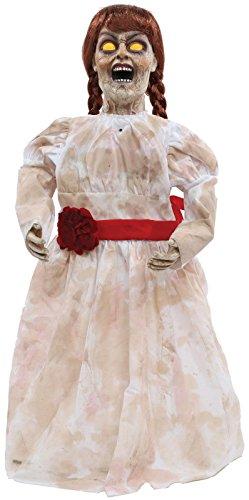 [HALLOWEEN GRIM GIRL DOLL ZOMBIE SOUND PROP DECORATION HAUNTED HOUSE - CFP] (Dancing Dolls Costumes)