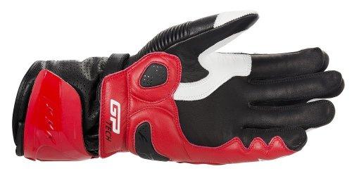 Alpinestars Mens GP Tech Leather Gloves 2014 Large White Red Black