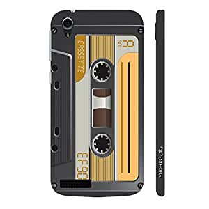 Enthopia Designer Hardshell Case Retro Cassette 6 Back Cover for Lenovo A3900