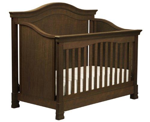 Million Dollar Baby Classic Louis 4-In-1 Convertible Crib, Espresso front-655203
