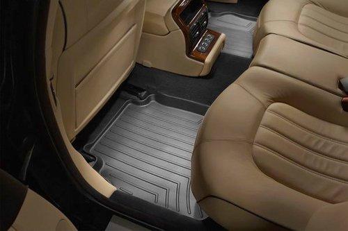 Weathertech Custom Fit Rear Floorliner For Toyota Yaris/Scion Xd (Black)
