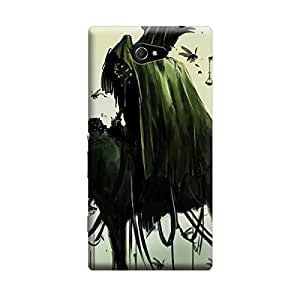 Ebby Premium Printed Mobile Back Case Cover With Full protection For Sony Xperia M2 (Designer Case)