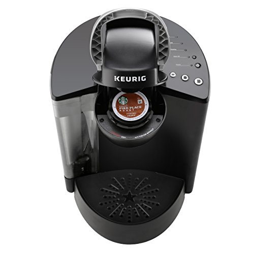 Keurig Single-Serve Coffee Maker with Prestee 36 Capsule Drawer, 48 K-Cup Pods Variety, Water Filter Handle and Filter