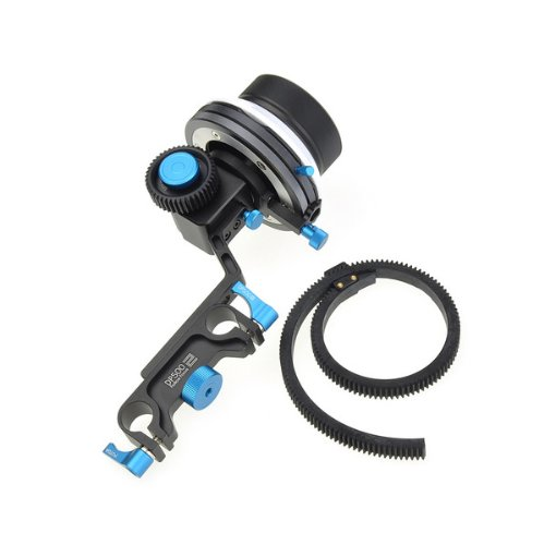 BestDealUSA Fotga DP500II Dampen Follow Focus A/B Hard Stop f DSLR 5D II III 7D D90 15mm Rod