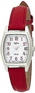 [セイコー]SEIKO 腕時計 ingene アンジェーヌ ソーラー カーブハードレックス 日常生活用強化防水(10気圧) 革バンド トノー型 AHJD075 レディース
