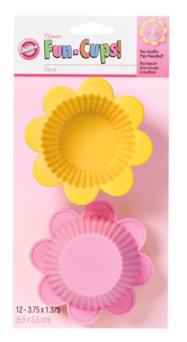 Wilton Flower Silicone Fun Cups