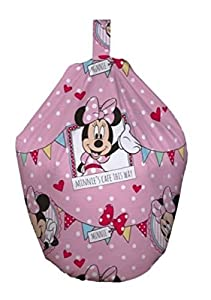Minnie Mouse Café Girls Filled Childrens Kids Bean Bag New from Home Sweet Home