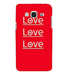 Love Love Quotes 3D Hard Polycarbonate Designer Back Case Cover for Samsung Galaxy J3 (6) J320F :: Samsung Galaxy J3 (2016)