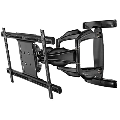 SPINC Peerless Full-Motion Plus Wall Mount for 50-Inch - 80-Inch Flat Panel Screens (Black) at Sears.com