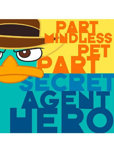 Phineas and Ferb 'Agent P' Large Napkins (16ct) - 1