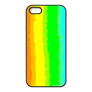 Amazon.com: Glitched Rainbow IPhone 5,5S Case, Cheap Cute ...