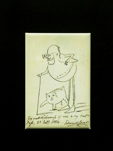 Edward Lear & his cat Fosse Magnet