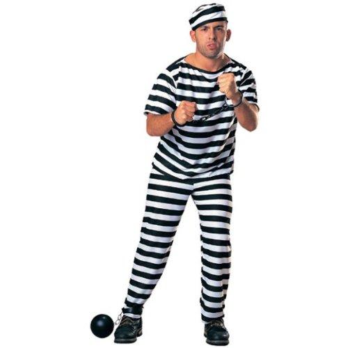 迷彩服 囚人 コスチューム 男女共用 フリーサイズ