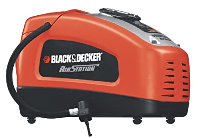 Black & Decker ASI300 Air Station 12-Volt or 120-Volt Inflator