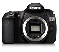 Canon EOS 60D 18 MP CMOS Digital SLR Camera with 3.0-Inch LCD by Canon