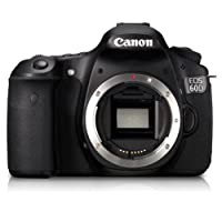 Canon EOS 60D 18MP Digital SLR Camera Body Only (Black) with 4GB Card