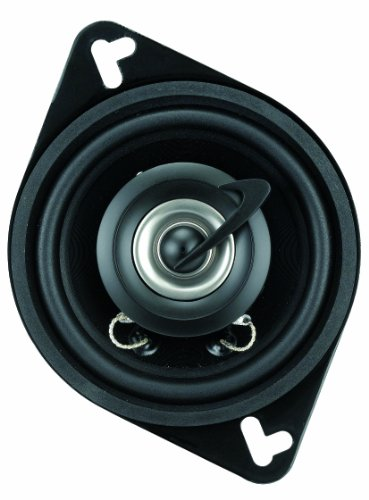 Planet Audio Tq322 3.5-Inch 2-Way Speaker System Poly Injection Cone (Black)