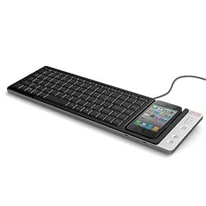 Omnio WOW-KEYS Full-sized, QWERTY PC or MAC Keyboard for iPhone (000WOWKEYS)