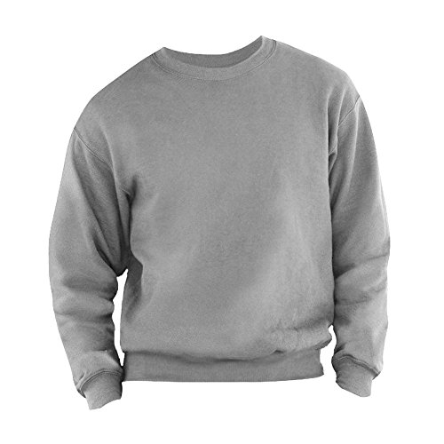 fruit-of-the-loom-sweatshirt-homme-m-gris