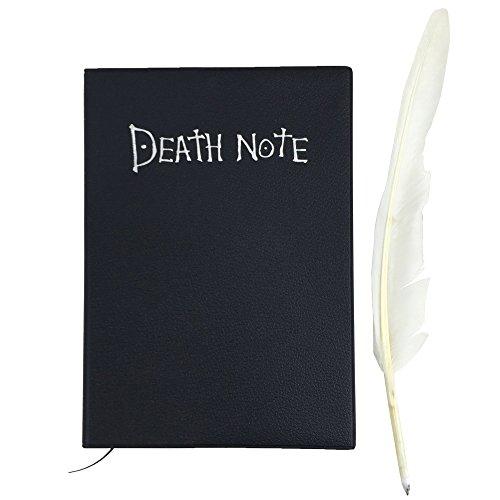 Katara 1732-Death Note appunti libro per Light Yagami Cosplay, Nero