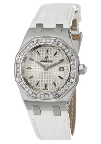 Audemars Piguet Lady Royal Oak Women's Quartz Watch 67621ST-ZZ-D012CR-02
