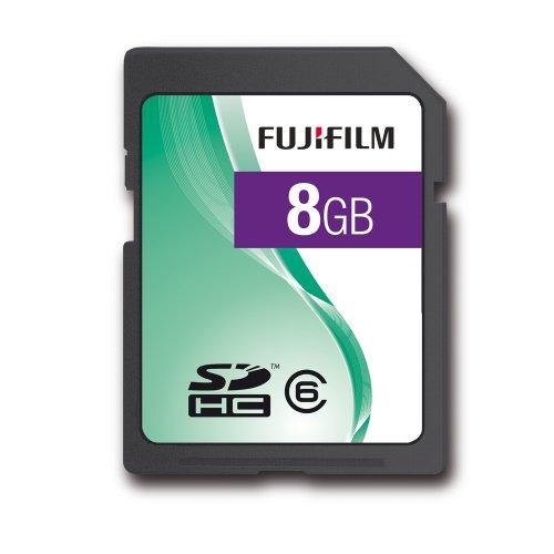 Fujifilm 8GB Class 6 SDHC SD Card