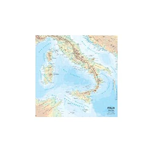 Carta geografica murale fisica e politica ITALIA Belletti 97x134 cm MS01PL PDF