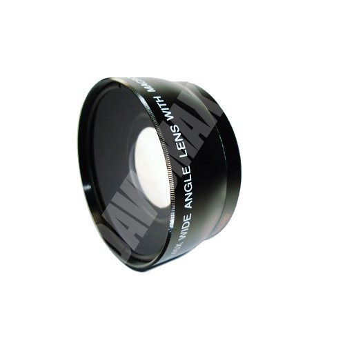 72mm DM Optics 0.45X Wide Angle Lens + Macro Includes LIFETIME WARRANTY, Lens Caps, Lens Bag For The Sony 20mm...