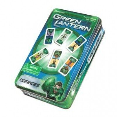 Green Lantern Dominoes