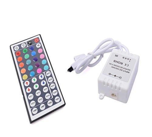 Amars(Tm) 44 Key Remote Ir Controller For Rgb 3528 5050 Led Strip Diy Accessories