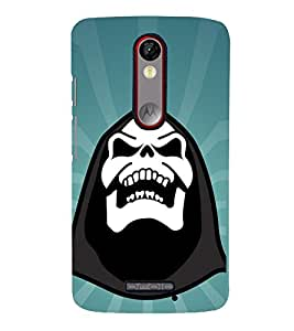 Vizagbeats Halloween Back Case Cover for Motorola Moto X force
