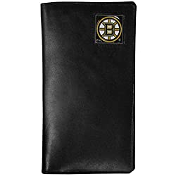 NHL Boston Bruins Tall Leather Wallet
