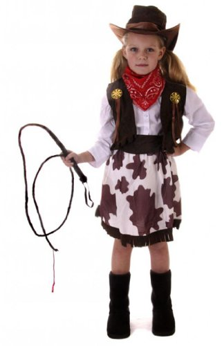 Cowgirl Costume Girl's Cow Costume