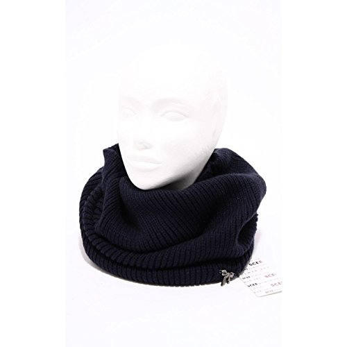 94989 scaldacollo blu SCEE BY TWIN-SET sciarpa donna scarf women [UNICA]